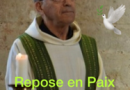 A Dieu au père Francis