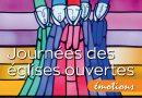 Journées Eglises Ouvertes<br><i>Emotions</i><br><img src='https://www.sarmentsforestois.be/wp-content/uploads/06-01.png' width='35'><img src='https://www.sarmentsforestois.be/wp-content/uploads/06-02.png' width='35'>