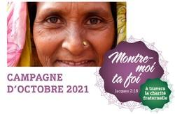 Missio, campagne d'octobre 2021: Montre-moi ta foi