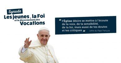 Synode des jeunes<br><i>Mgr Kockerols joyeux et impatient</i>